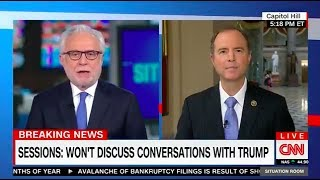 Rep. Schiff on CNN: Congress Cannot Allow Jeff Sessions' Non-Answers Stand Free HD Video