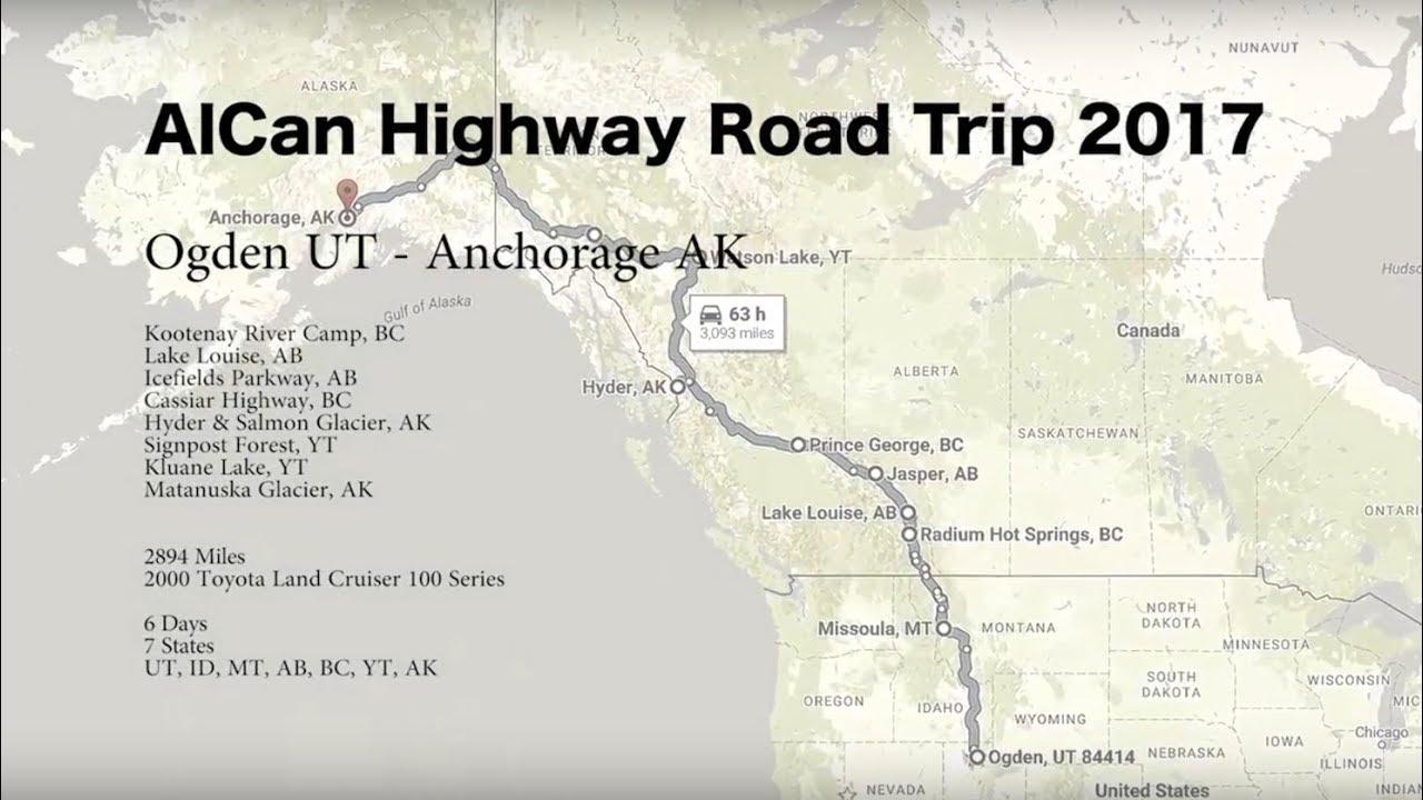 Alcan Highway 2017 Day 4 Hyder Alaska to Teslin Yukon Territory