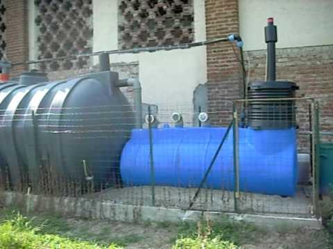 primo impianto depurazione acque reflue domestiche ar800