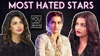 Aishwarya Rai Priyanka Chopra Sonam Kapoor  Most Hated Actresses Of Bollywood