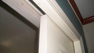 How to adjust a pocket door
