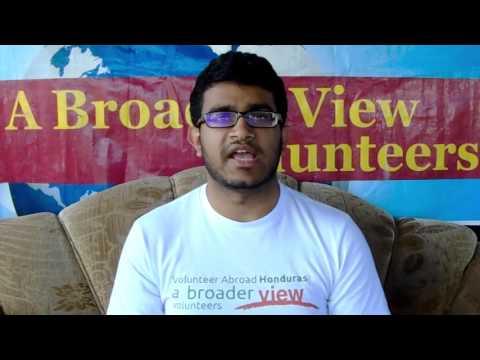Volunteer Kishan Patel Review Honduras La Ceiba Premedical Program with Abroaderview.org
