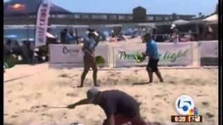 Beach tennis getting more popular