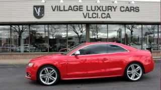 2008 Audi S5 - Village Luxury Cars Toronto