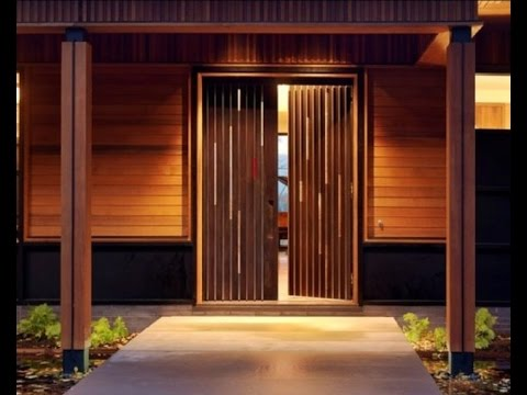Front Door Entrance | Cool Front Door Designs For Houses | 12 | Design