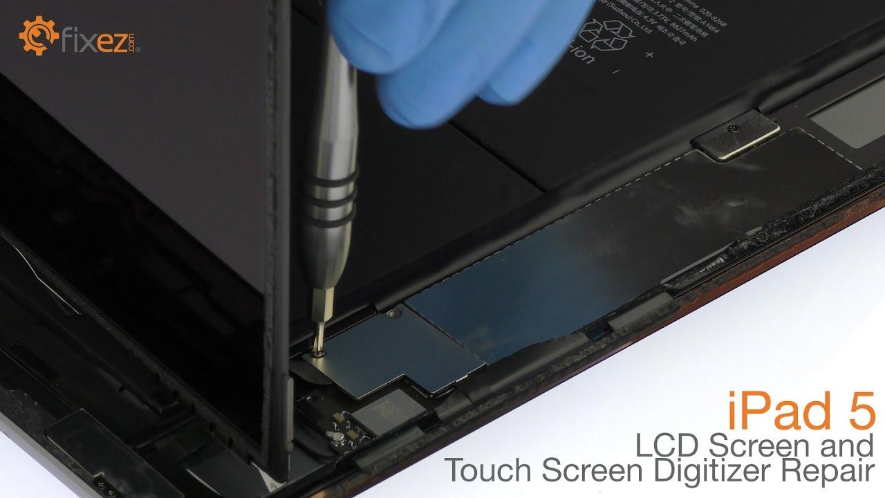 iPad Air and iPad 5 Black Touch Screen Digitizer | Fixez com