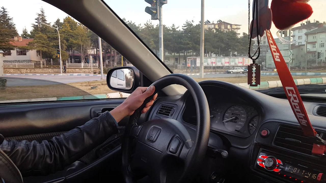 Honda Civic 1.6 Dizel Otomatik 0-190 km/h hızlanma