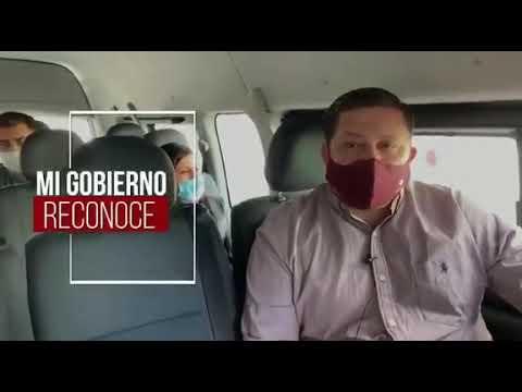 """NICOLÁS ROMERO.-Se suman transportistas al proyecto """"Salvando Vidas""""para contener Covid-19"""
