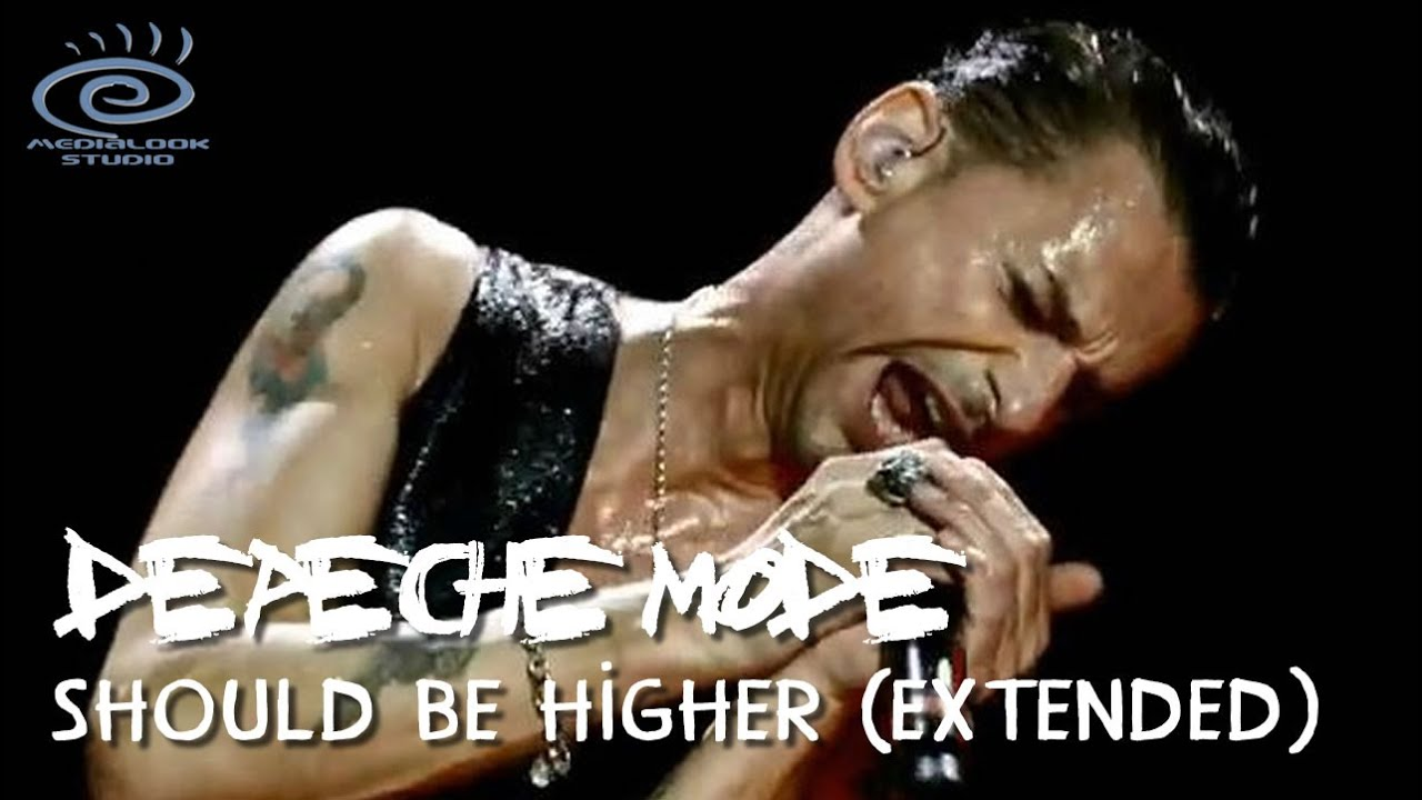 Depeche Mode Should Be Higher Extended Remix 2020 Sdds Uhd 4k Youtube