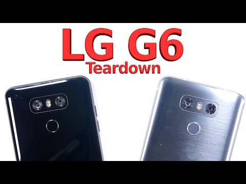 First Look INSIDE the LG G6 Smartphone