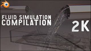 Blender 2.76 - Fluid Simulation Compilation