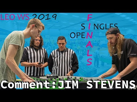 Finals: Open Singles - ITSF World Series by Leonhart 2019 | Tablesoccer.TV