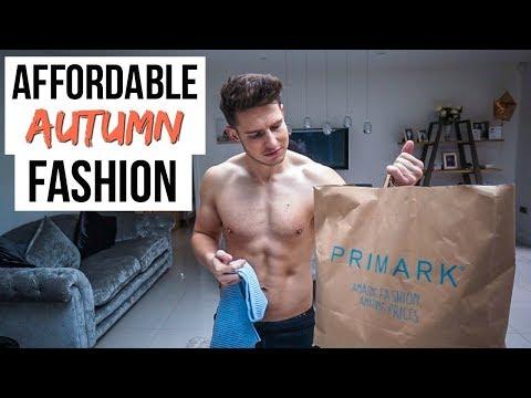 HUGE PRIMARK CLOTHING HAUL | Affordable Mens Fashion (Autumn 2018)