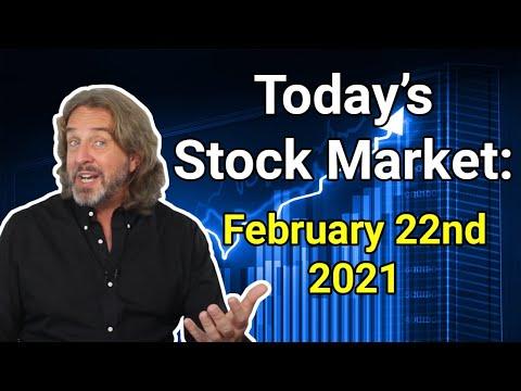 Stock Market Today: February 22, 2021