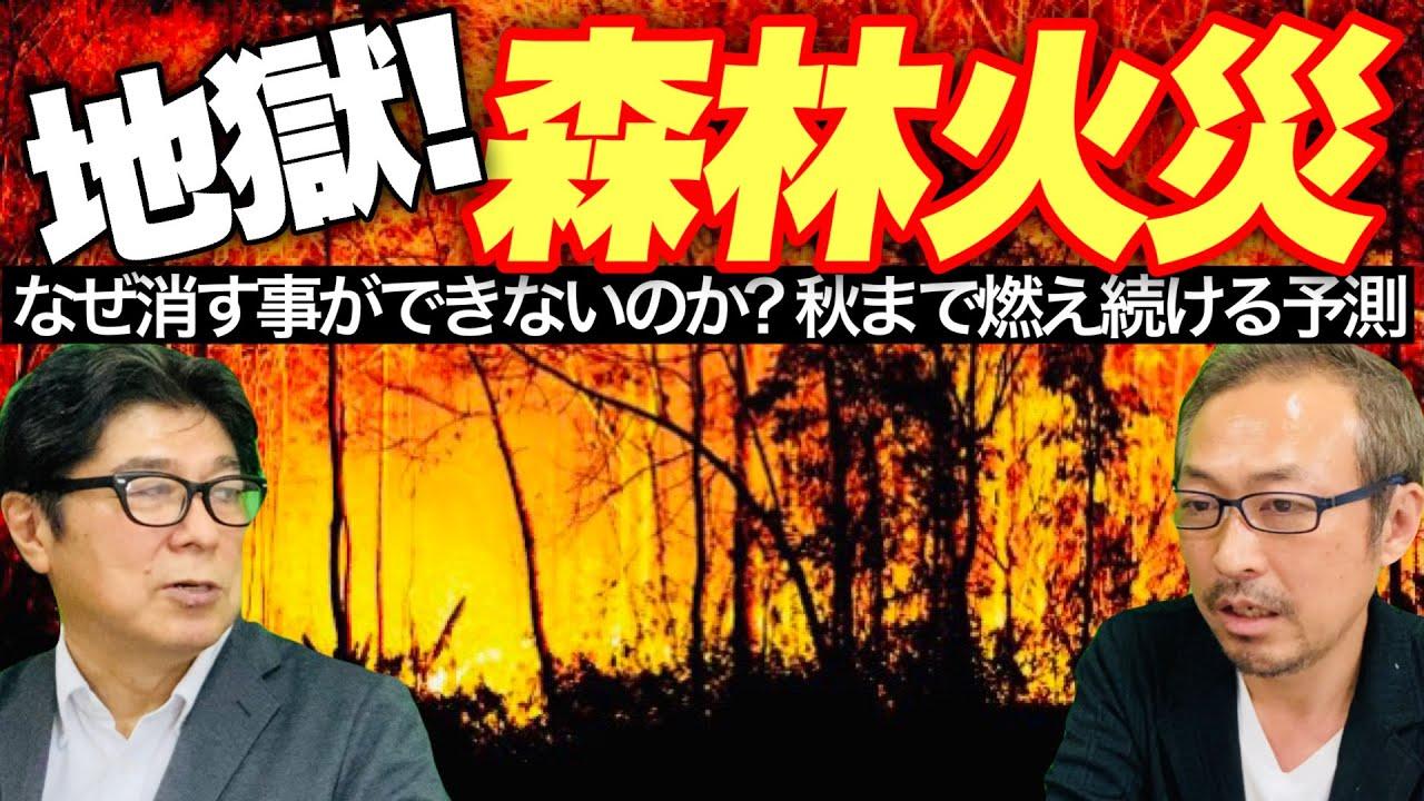 【異常気象】2070年35億人が居住不能に?! 東京23区の1.6個分が燃え続ける森林火災の恐怖