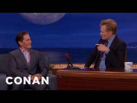 """Kyle MacLachlan & Conan's '90s """"SNL"""" Memories  - CONAN on TBS"""