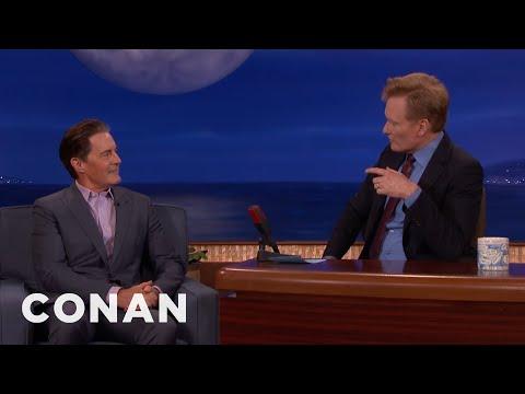 Kyle MacLachlan & Conan's '90s