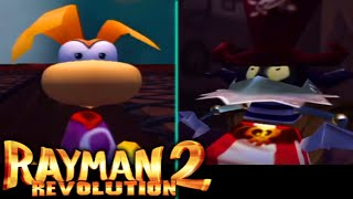 Rayman 2 Revolution (PS3) - 100% (Lums + Cages) LongPlay // Sanctuary of Rayman