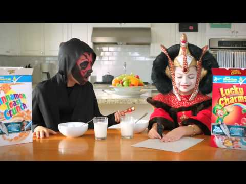 Star Wars - Lucky charms/Cinnamon toast crunch/General Mills commercial 2012