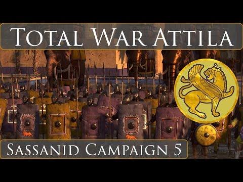 Total War Attila : Sassanid Campaign : Part 5