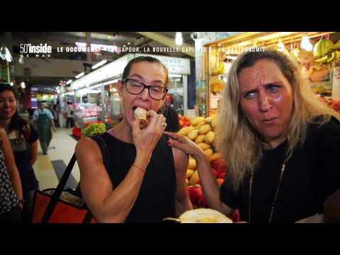 WOK'N'STROLL  SINGAPORE ON FRENCH TV -