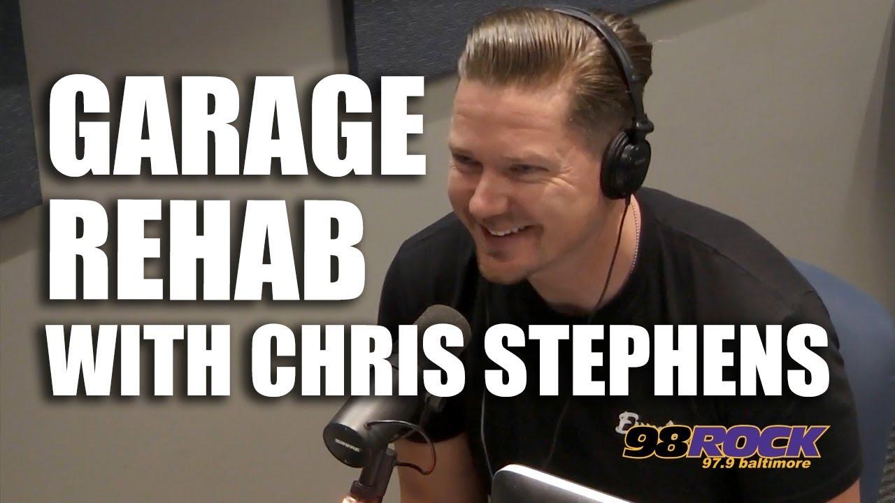 Chris Stephens From Garage Rehab In Studio 98 Rock Baltimore
