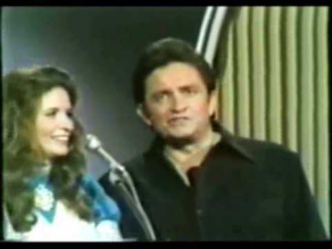 Johnny Cash & June Carter Cash  You Cry Just A little Bit, Die Just A Little Bit