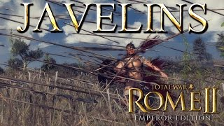 Javelins -  Damage, Armour Piercing and Bonus vs Large - Rome 2 Total War Mechanics