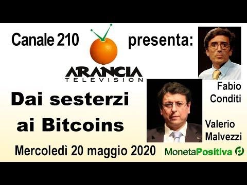 Arancia TV - 20 maggio 2020 - Dai sesterzi ai Bitcoins - Valerio Malvezzi e Fabio Conditi
