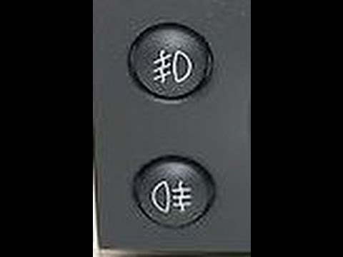 vauxhall fog lights only the offside light is used youtube egr valve diagram  a light switch wiring