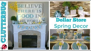 Easy Spring And Easter Decor Ideas   Dollar Store Diy Decorating