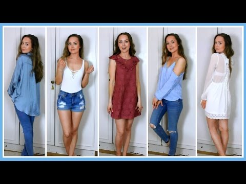 Huge H&M Haul (Try-On) | mixie