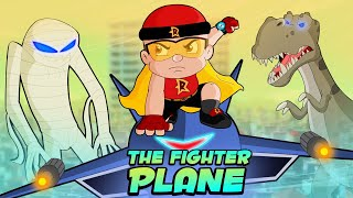 Mighty Raju - Fighter Plane Attack | Fun Kids Videos | Cartoon for Kids in Hindi