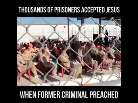 Prison outreach Ministry by a former Prisoner & Present Pastor