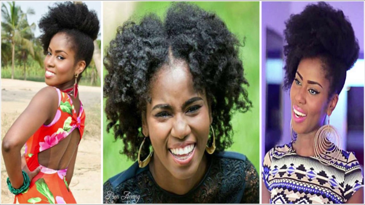 17 Gorgeous Ghanaian Celebrities With Their Natural Hair Youtube
