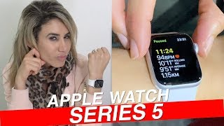 Apple Watch Series 5 Hands On Review [Filmed on iPhone 11 Pro 🤮]