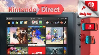 SWITCH FIRMWARE 5.0 UPDATE IS REAL! SO IS THE JANUARY DIRECT!
