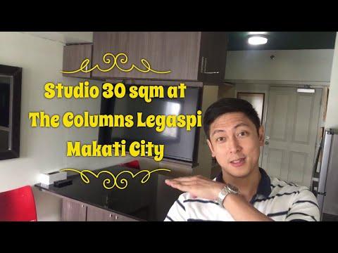 Studio 30 sqm at The Columns Legaspi Makati City
