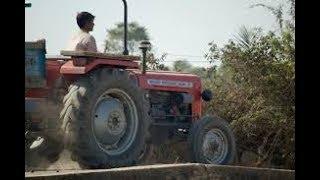 gazab video ..Tractor with trolley...ट्रैक्टर ट्रॉली