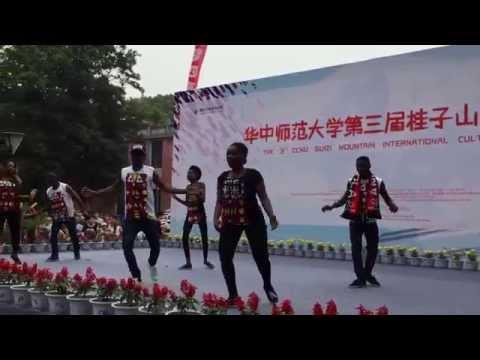 THE 3 CCNU GUIZI MOUNTAIN INTERNATIONAL CULTURAL FESTIVAL CHINA  ANGOLA  QUADRADINHO 23 DE MAIO 2015