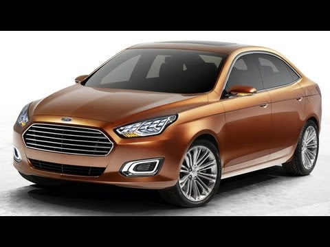 2013 Ford Escort Concept @ Auto Shanghai