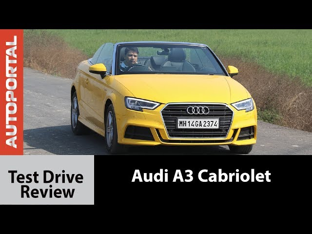 Audi A3 Cabriolet Test Drive Review Autoprotal Video Watch Now