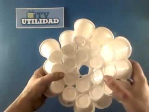 Lámpara de diseño hecha por ti mismo - YouTube