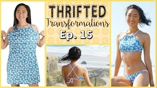 Thrifted Transformations | Ep. 15 (DIY Swimsuit)
