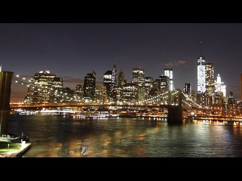 New York Manhattan and Boston in Time-Lapse
