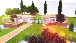 Les Sims 3 : Villa Vitrée (No CC) - Download