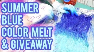 Summer Blue & Light Blue Color Melt/Ombre - Contest Closed | KristenLeanneStyle