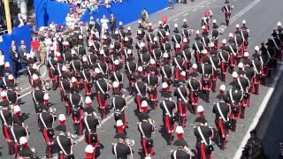 Carabinieri Parata Militare Festa della Repubblica - Banda Musicale