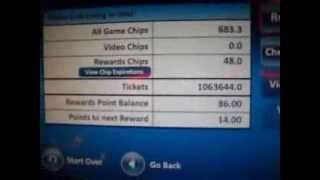 Dave & Busters 1 Million Tickets