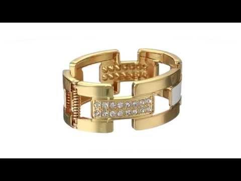 GUESS Wide Cuff Link Bracelet SKU:8494943